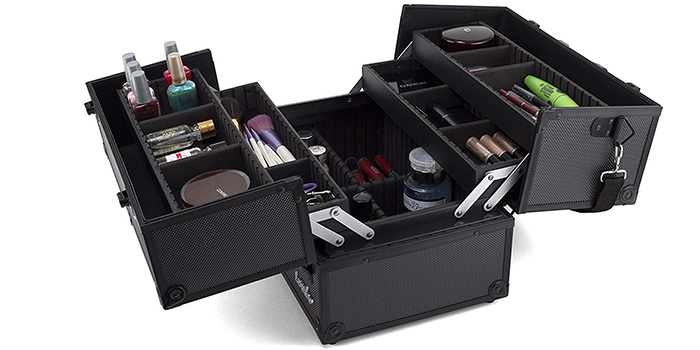Glenor Beauty Makeup Train Case