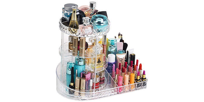 Readaeer 360-Degree Adjustable Makeup Organizer