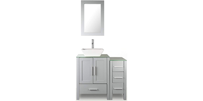 Homecart 36-inch Bathroom Vanity & Sink Combo