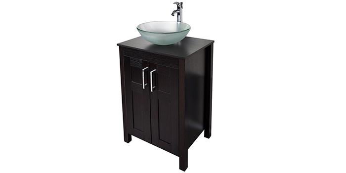 PULUOMOS Modern Bathroom Vanity