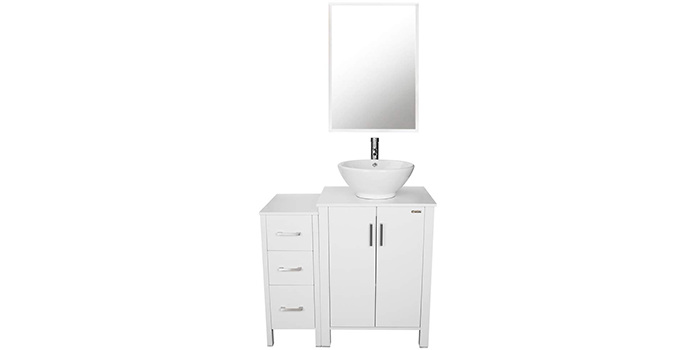 U-Eway 36-inch Bathroom Vanity with Bowl Sink