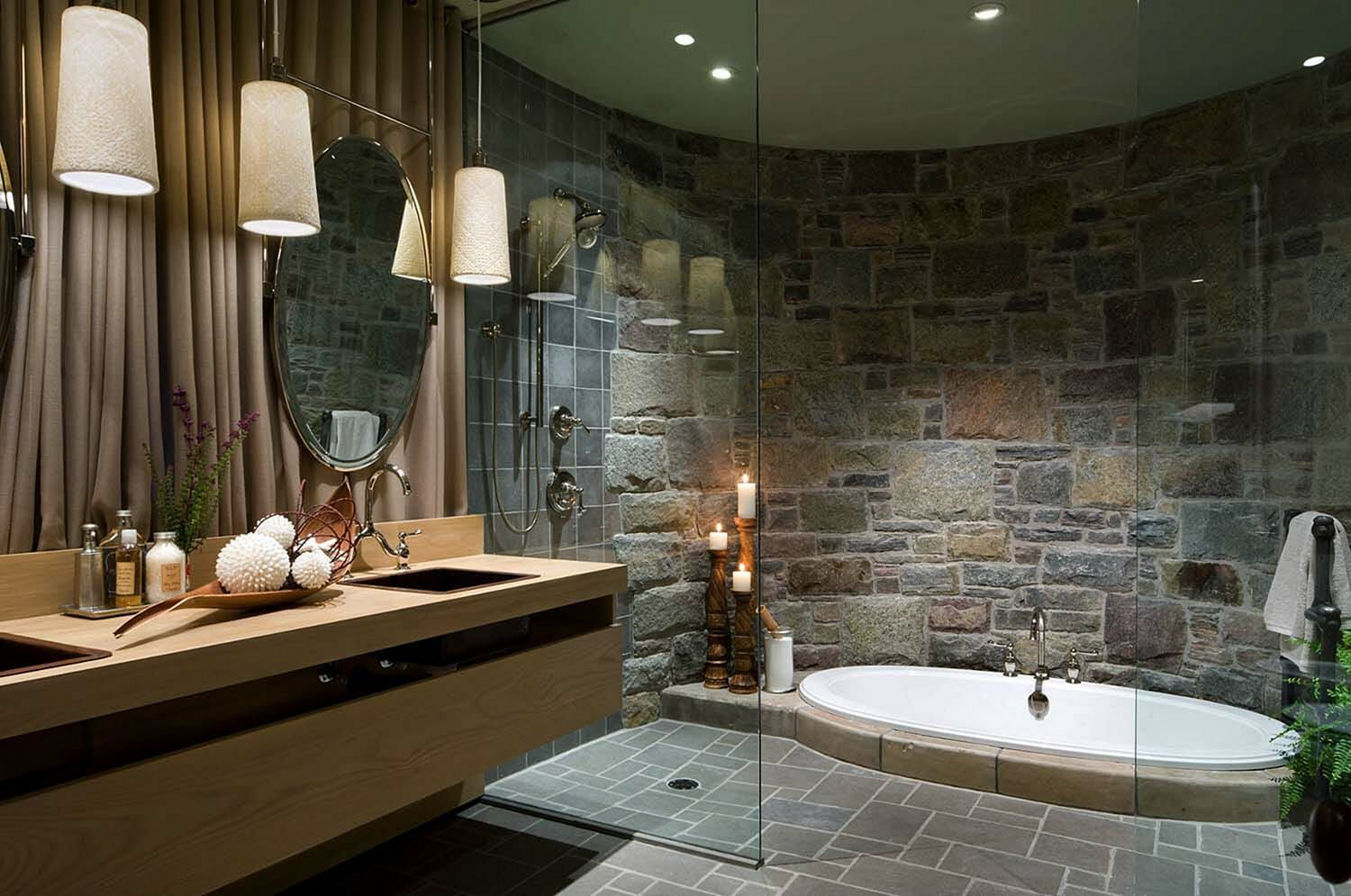 Natural Stone Bathroom Tiles